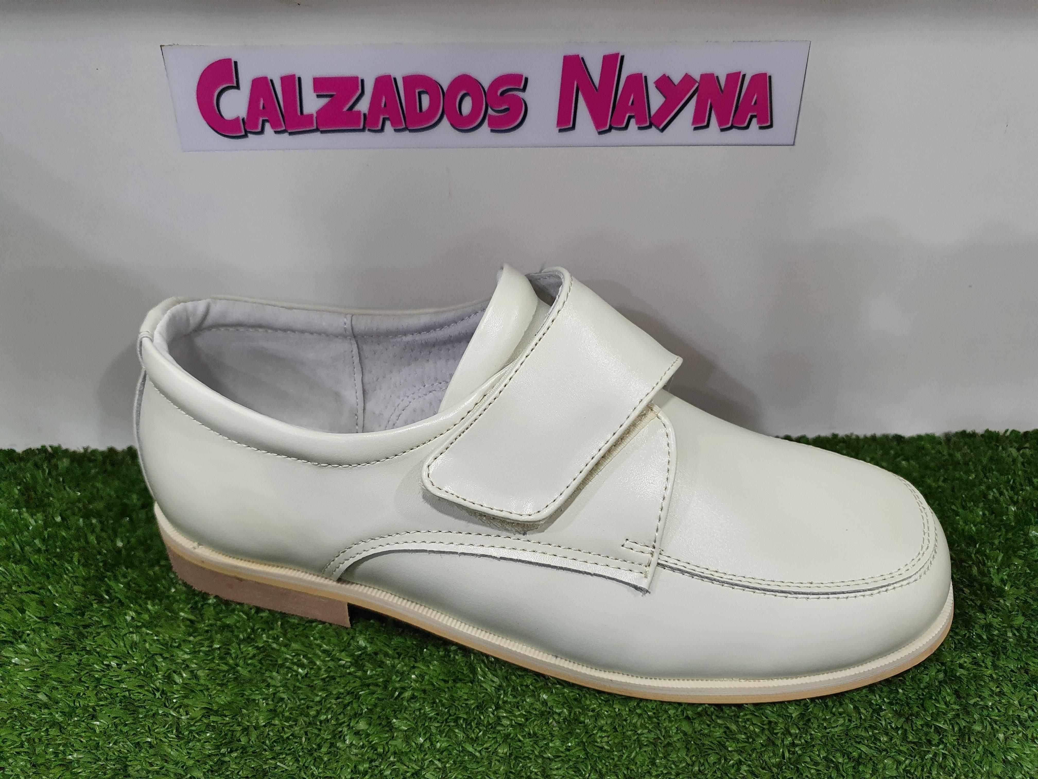 Calzados De Velcro Nayna Con Mocasin Niños y6gfb7