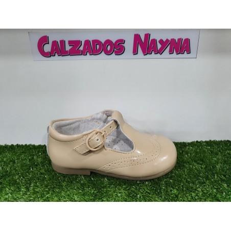 MOCASIN DE NIÑOS EN CAMEL
